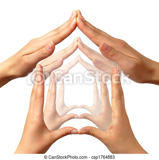 conceitual, lar, símbolo - csp1764883