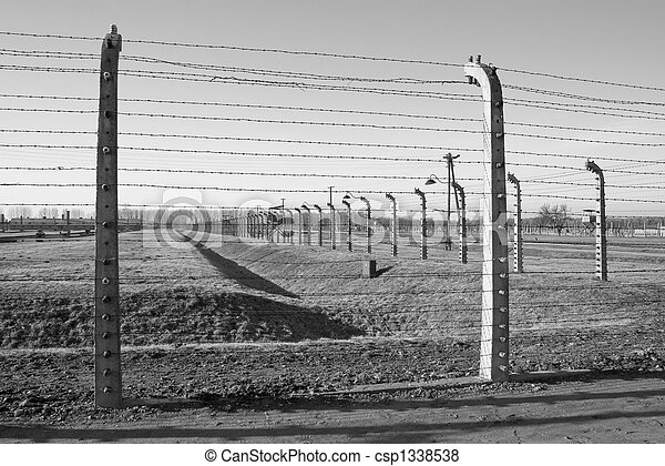 concentration camp in Poland - csp1338538