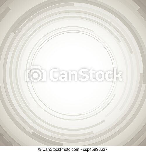 Concentric circles abstract element - csp45998637
