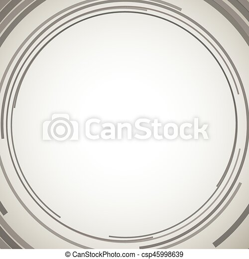 Concentric circles abstract element - csp45998639
