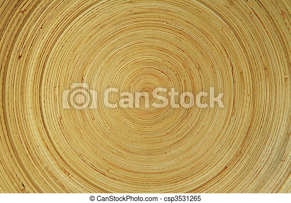 concentric wooden texture - csp3531265