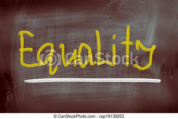concept, égalité - csp19139253