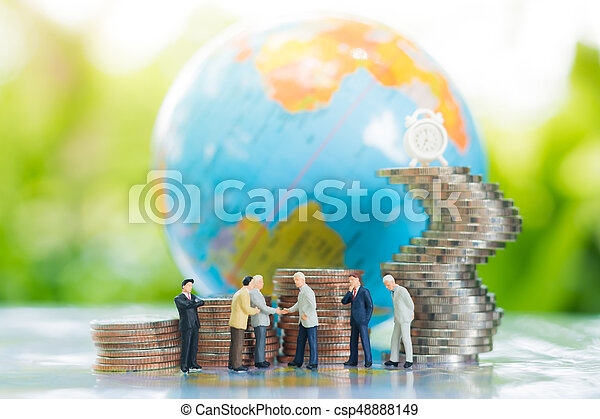 concept., δέσμευση , συμφωνία , συνεταιρισμόs , επένδυση  - csp48888149