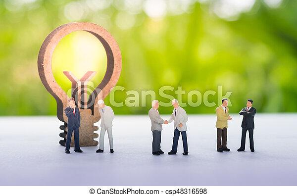 concept., ιδέα , επιχείρηση  - csp48316598