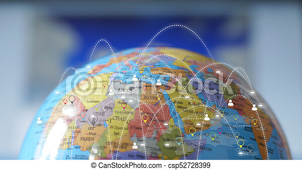 concept., 世界的なネットワーク - csp52728399