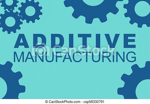 concept, additif, fabrication - csp58330791