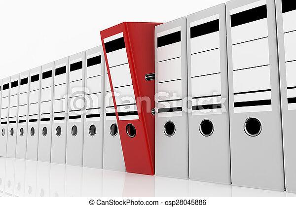 El concepto de almacenamiento de datos. - csp28045886