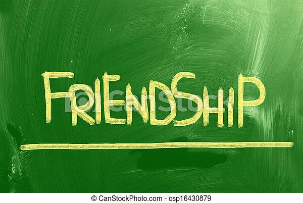 concept, amitié - csp16430879