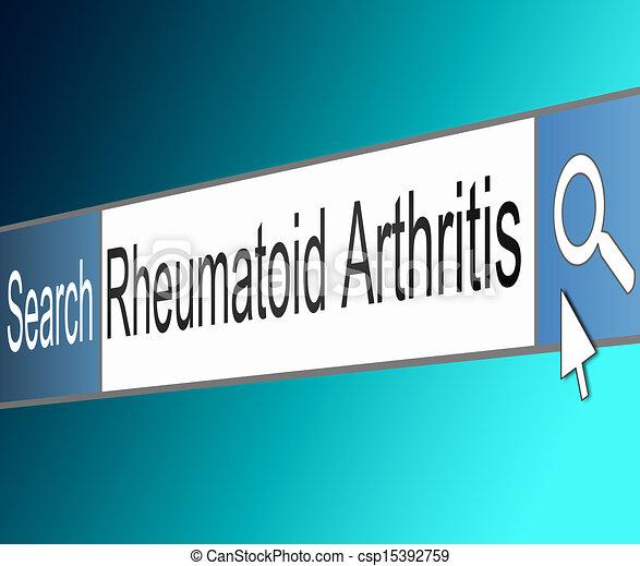 concept., arthrite, rhumatoïde - csp15392759