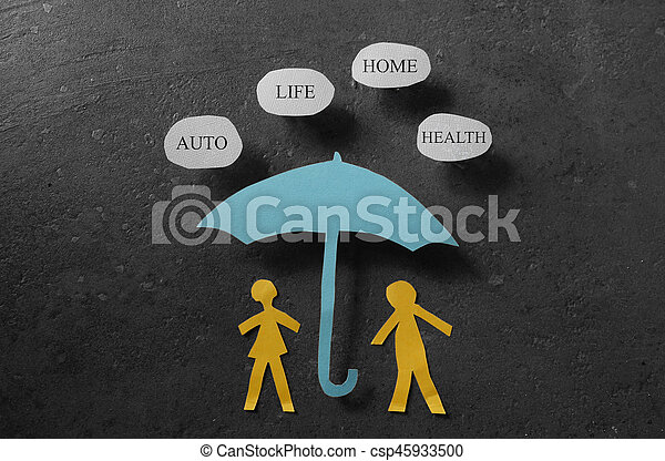 concept, assurance assurance - csp45933500