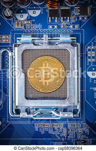 concept, bitcoin - csp58396364