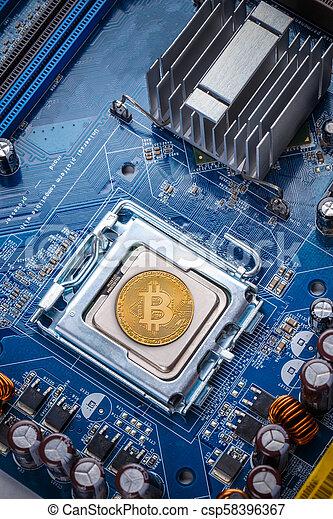 concept, bitcoin - csp58396367