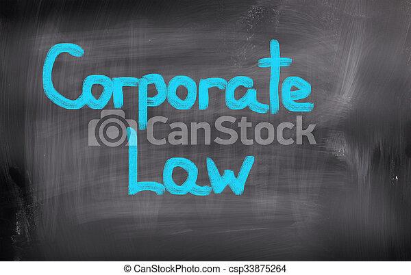 concept, constitué, droit & loi - csp33875264
