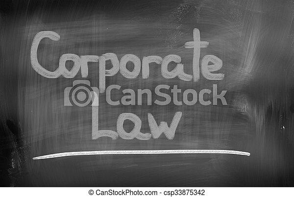 concept, constitué, droit & loi - csp33875342