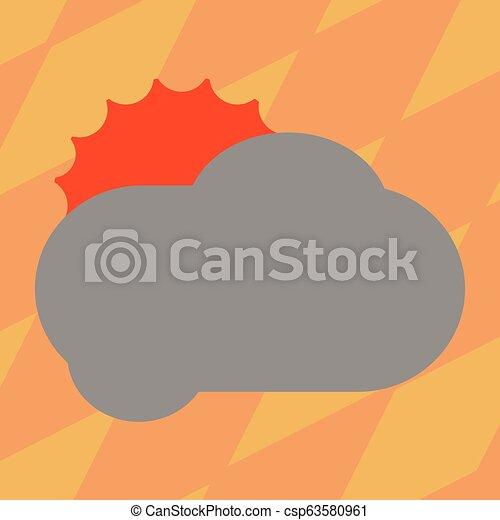 concept, couleur, texte, pelucheux, promotionnel, conception, vide, nuage, briller, toile, annonces, soleil, derrière, gabarit, railler, business, affiche, matériel, copie, dissimulation, haut, vecteur, vide, bannières - csp63580961