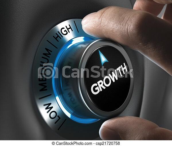 concept, croissance, business - csp21720758