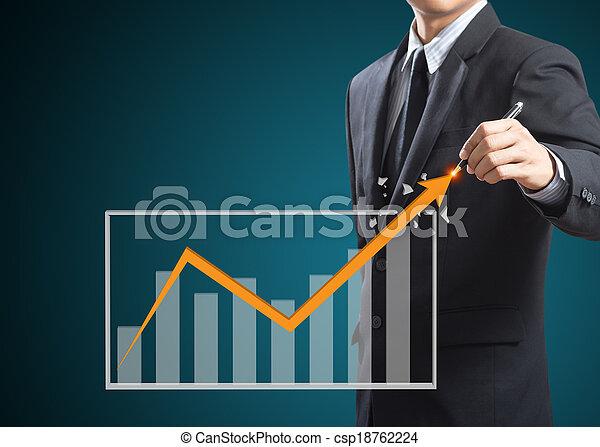 concept, croissance, business - csp18762224