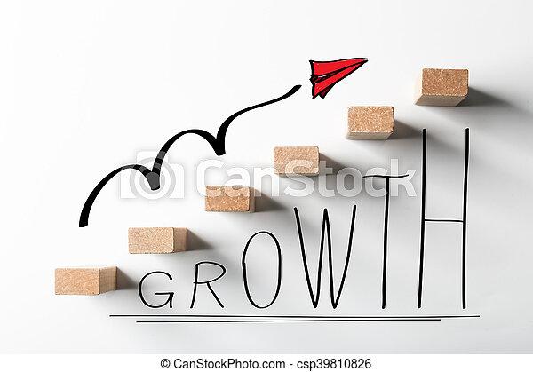 concept, croissance, business - csp39810826