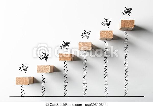 concept, croissance, business - csp39810844