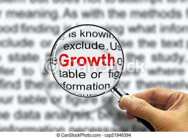 concept, croissance, business - csp21946394