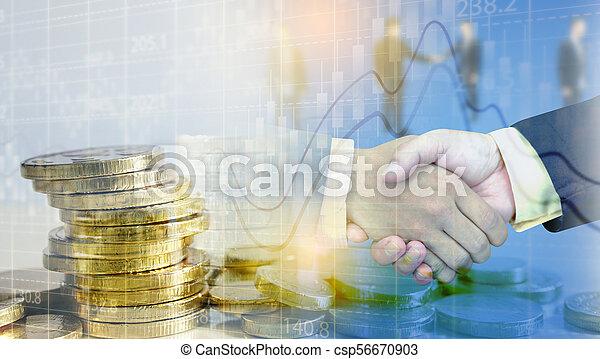 concept., croissance, business, reussite - csp56670903