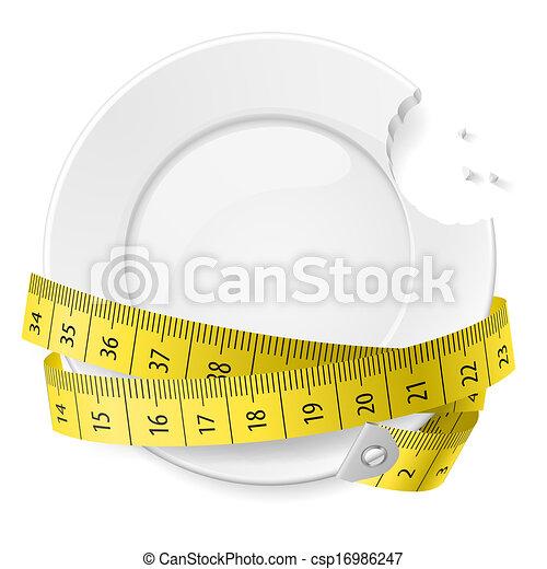 concept., dieet - csp16986247