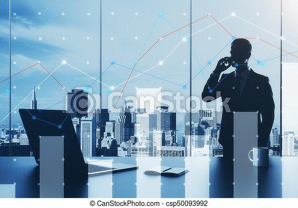 concept, données - csp50093992