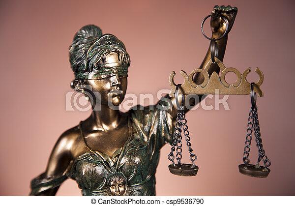 concept, droit & loi - csp9536790
