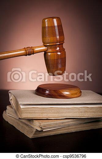 concept, droit & loi - csp9536796