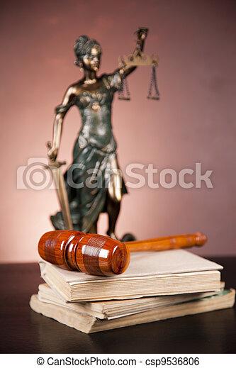 concept, droit & loi - csp9536806