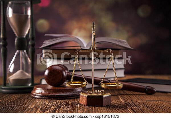 concept, droit & loi - csp16151872
