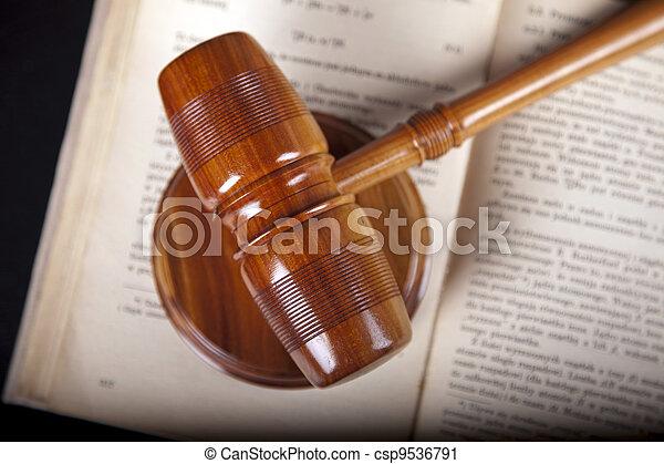 concept, droit & loi - csp9536791