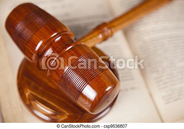 concept, droit & loi - csp9536807