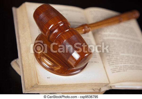 concept, droit & loi - csp9536795