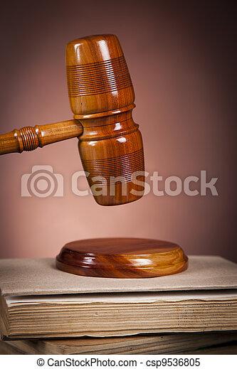 concept, droit & loi - csp9536805