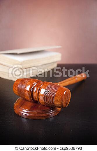 concept, droit & loi - csp9536798
