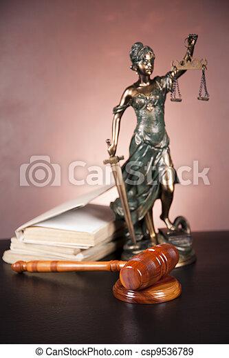 concept, droit & loi - csp9536789