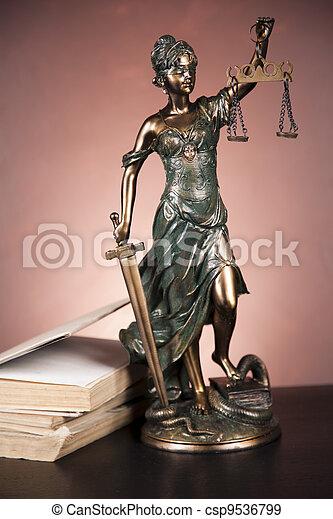 concept, droit & loi - csp9536799