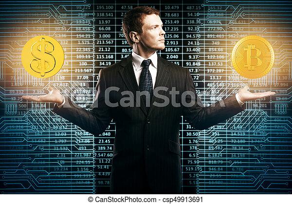 concept, e-affaires, choix - csp49913691