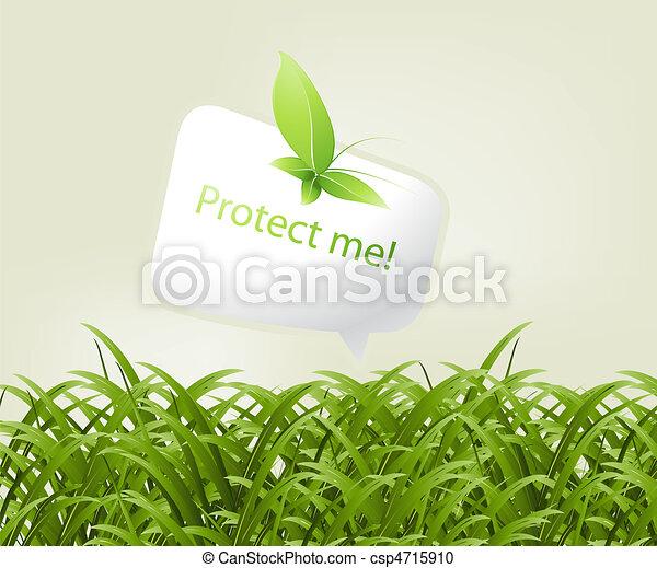 concept, ecologie - csp4715910