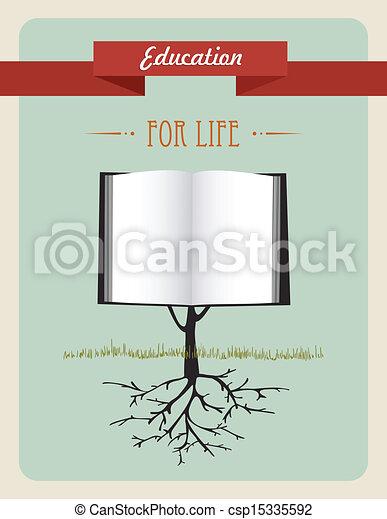 Concept Education Arbre Livre