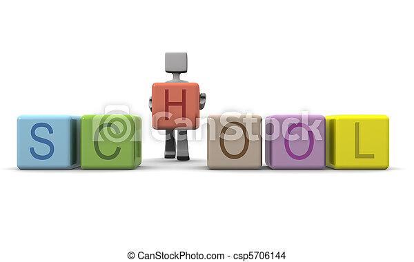 concept, education, enfants - csp5706144