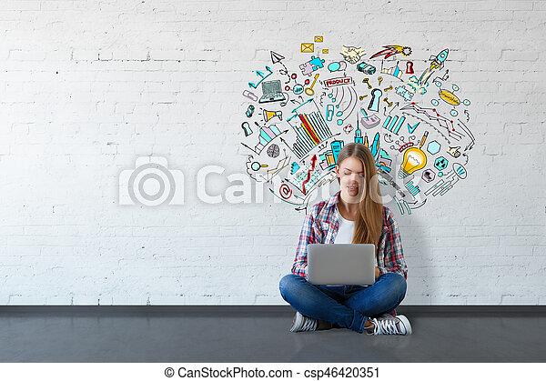 concept, education - csp46420351