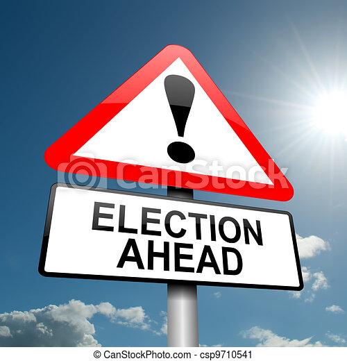 Concepto electoral. - csp9710541