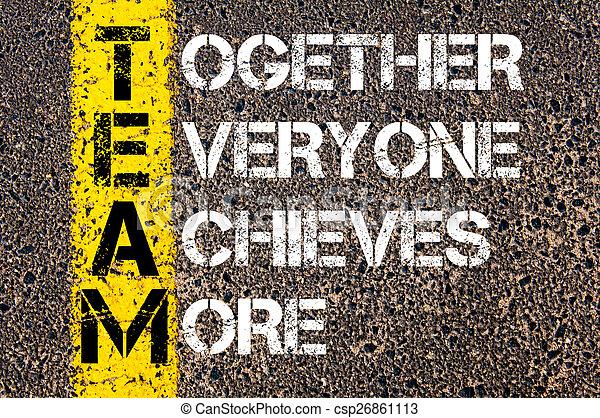 concept, -, ensemble, réalise, everyone, équipe, plus - csp26861113