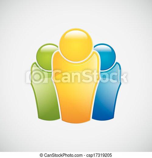 concept, equipe affaires - csp17319205
