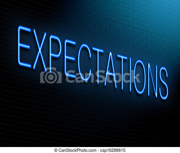 concept., expectations - csp16288615