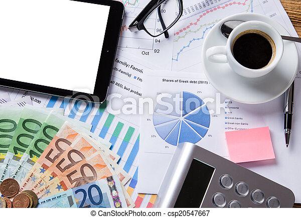 concept., financeiro, negócio - csp20547667