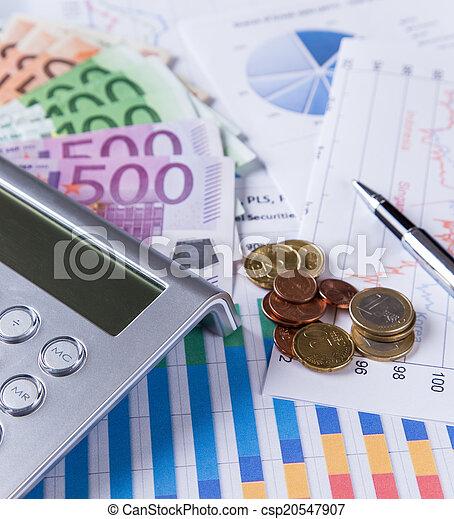 concept., financeiro, negócio - csp20547907