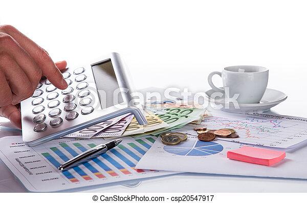 concept., financeiro, negócio - csp20547917